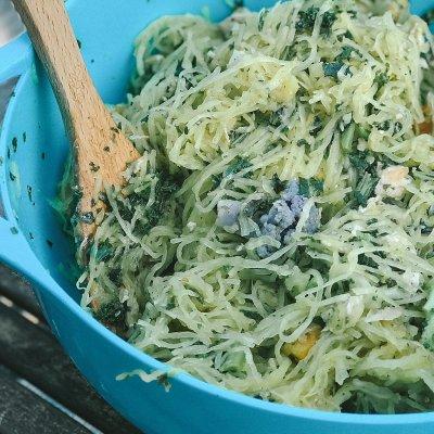Easy Spaghetti Squash Recipe: Chicken and Veggie Explosion