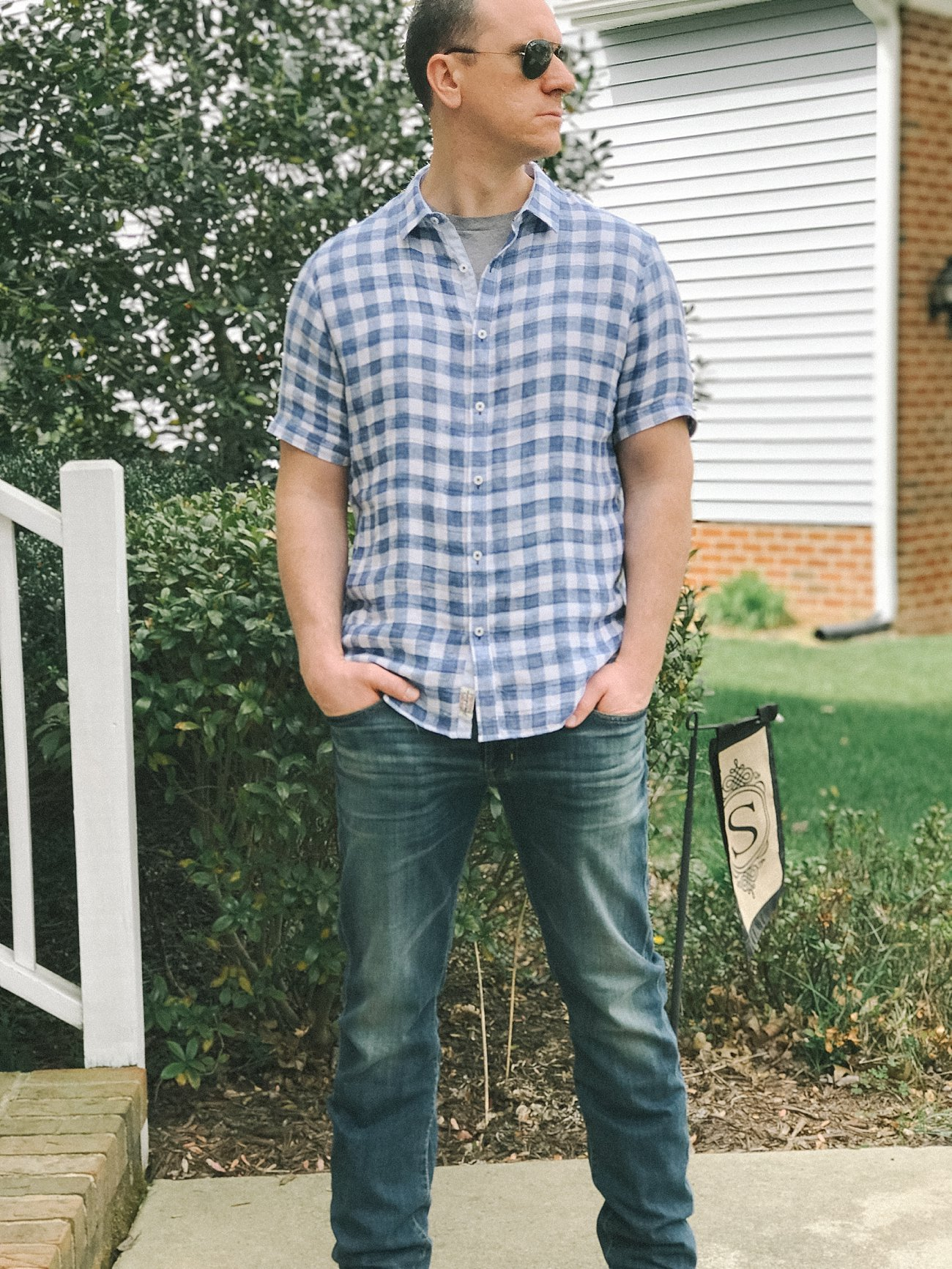 John's Second Stitch Fix for Men Review & Stitch Fix Giveaway by fashion blogger Still Being Molly