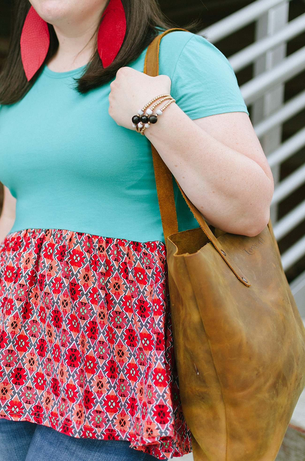 The Best Ethically Made Brown Leather Bag by ethical fashion blogger Still Being Molly