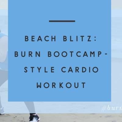 "Burn Bootcamp ""Beach Blitz"" Cardio Workout"