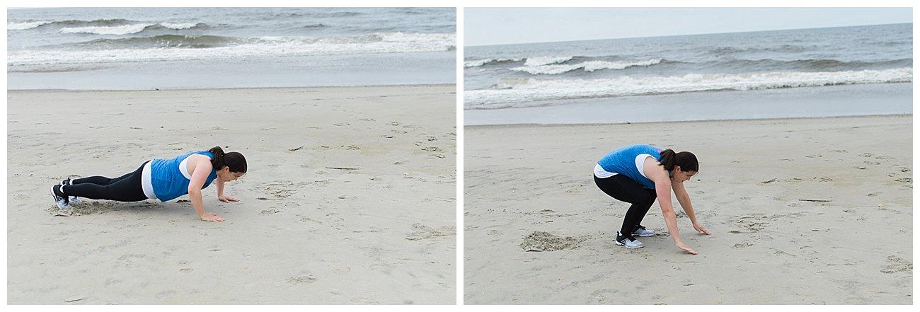 "Burn Bootcamp ""Beach Blitz"" Cardio Workout by popular blogger Still Being Molly"