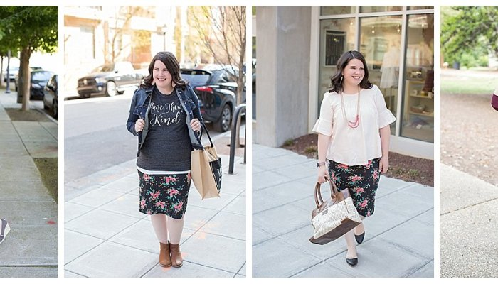 4 Ways to Wear a Floral Pencil Skirt