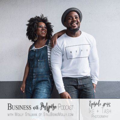 EP 44: Ike + Tash Photography - on running a business as a couple, seeing the bigger picture, and what makes them unique