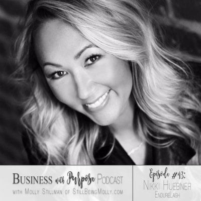 EP 43: Nikki Huebner, Founder of EndureLash on Loss, Overcoming Tragedy, and Giving Back