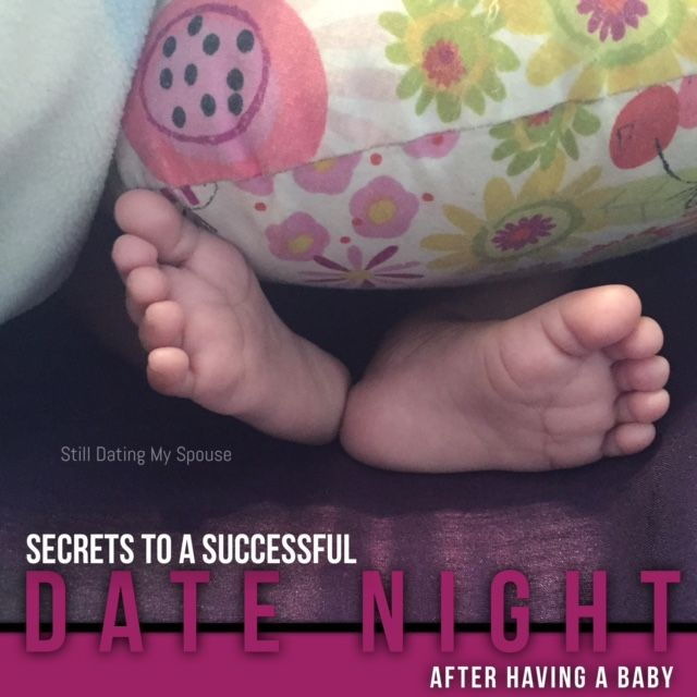 Secrets to a successful date night after having a baby
