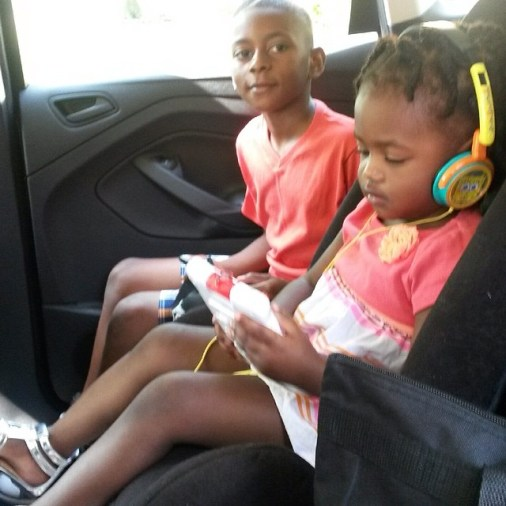 Family Travel With Electronics