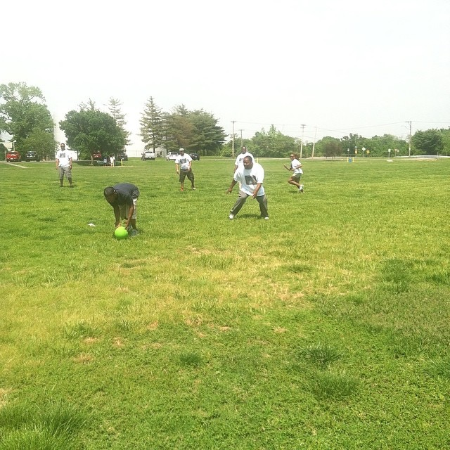 Kickball in St Louis