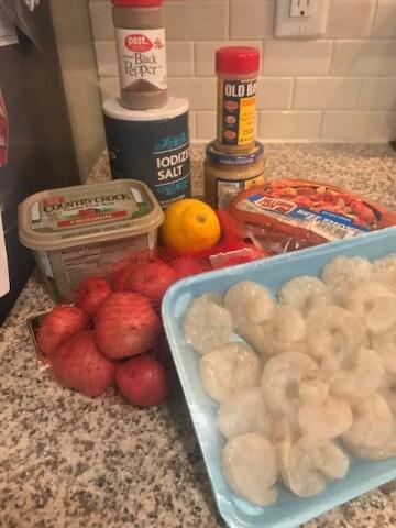 Shrimp Boil Recipe for Date Night