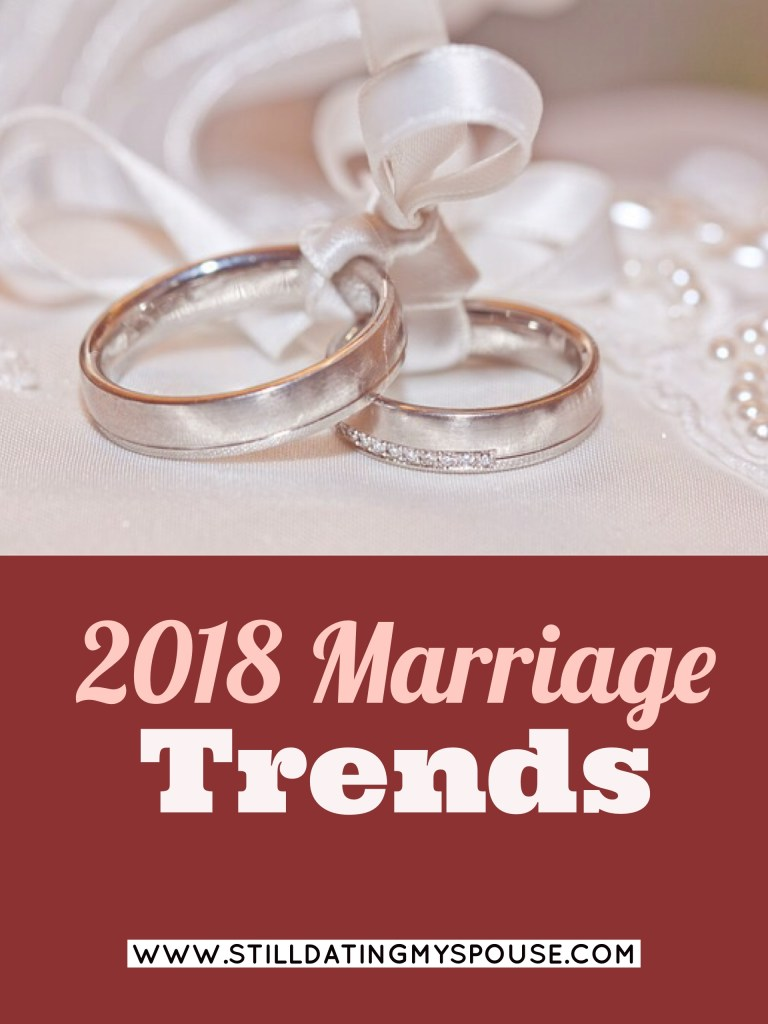 2018 Marriage Trends