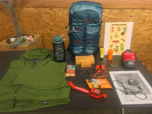 REI Camping tools