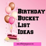 Birthday Bucket List Ideas