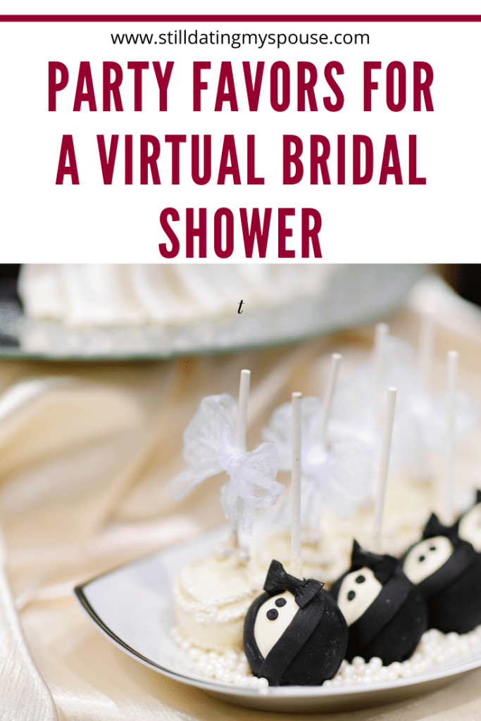Virtual Bridal Shower Party Favors