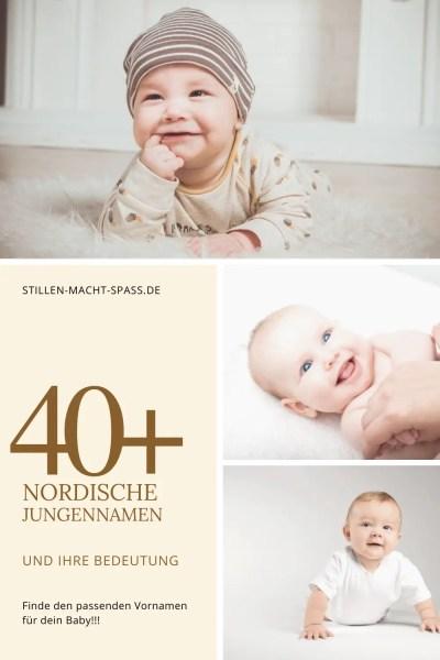 40+ nordische Jungennamen und ihre Bedeutung