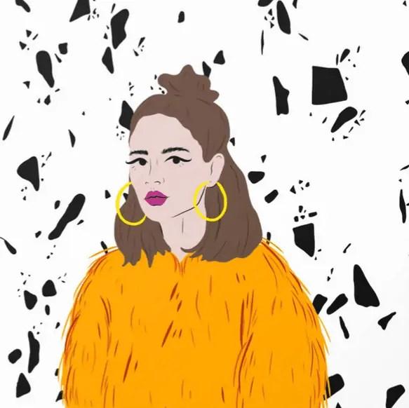 Pattern Girl Carina Lindmeier