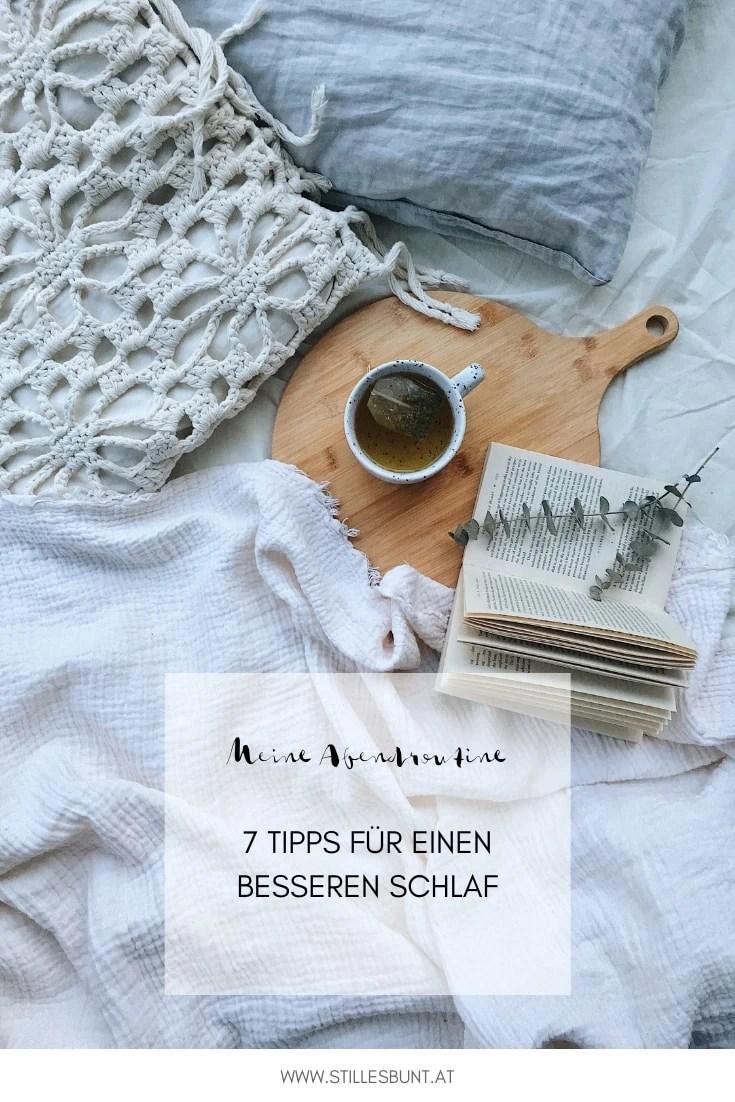Abendroutine Tipps für besseren Schlaf
