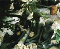 Geburt bei Negritos