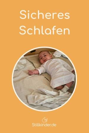Ein Baby im Familienbett