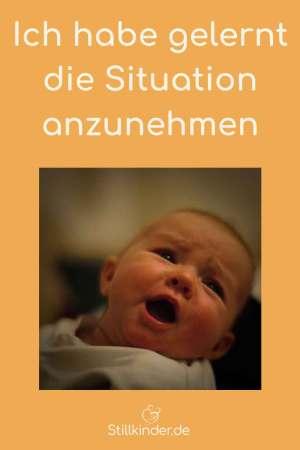 Ein unglückliches Baby