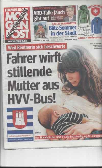 Stillen im Bus verboten!??