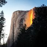 Yosemite – Fire Falls