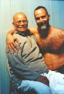 Prem Carlisi with Guruji