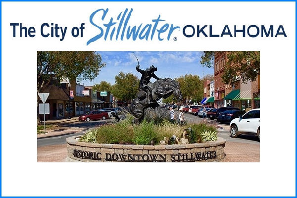city of stillwater oklahoma, historic downtown stillwater, stillwater ok logo