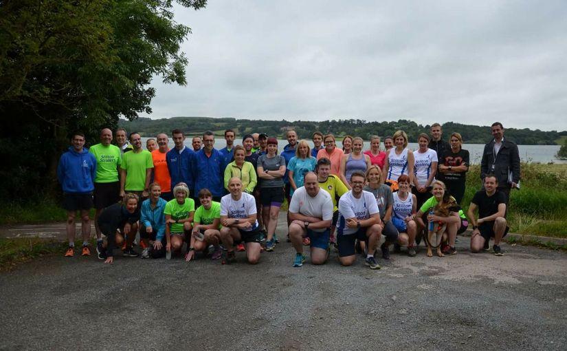Striders at Rutland Water