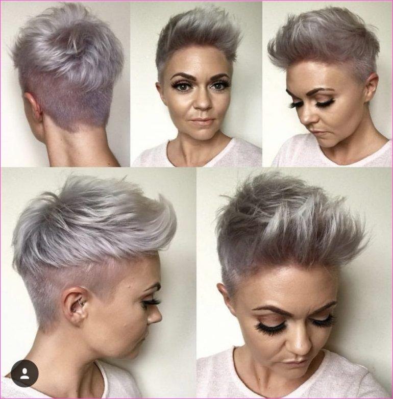 Frauen Frisuren Kurze Haare über 60 Für 2019 2020