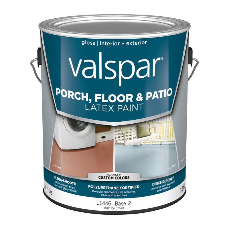 valspar gloss clear base 2 latex porch patio floor paint on valspar paint id=63377