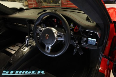 Stinger VIP in Porsche GT3