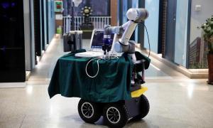Robot Coronavirus