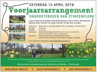 Guided spring tour Stinzenflora 13 April