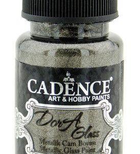 Cadence Dora Glas & Porselein verf Metallic Antracite