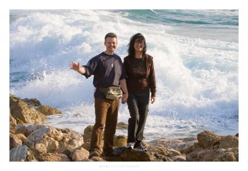 2008 – Israel, Radu ne saluta de la malul Marii celei Mari
