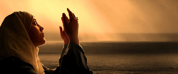 prayng muslims women