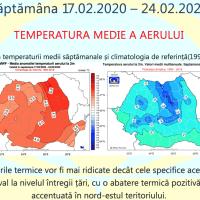 Prognoza meteo Romania 10 Februarie - 9 Martie 2020 Romania #iarna ANM