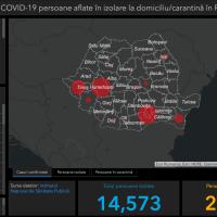 Harta interactivă Coronavirus în România