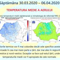 Prognoza meteo Romania 30 Martie - 27 Aprilie 2020 Romania #primăvara ANM