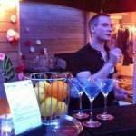 Cocktails pour sales event