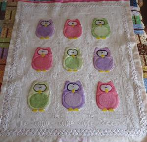 Andie's Owl Quilt