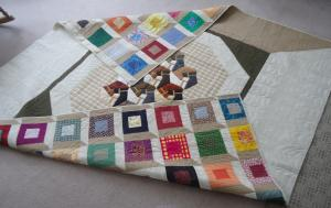 The quilt back was beautiful also!!