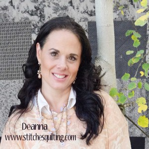 Deanna Stitches Quilting Toile