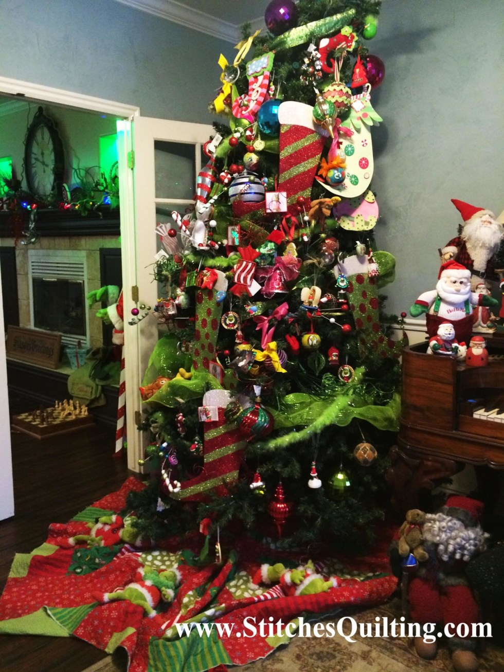 Our 2014 Grinch Christmas Tree