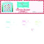 Lori Holt Circle Ruler Set Bee of My Bonnet