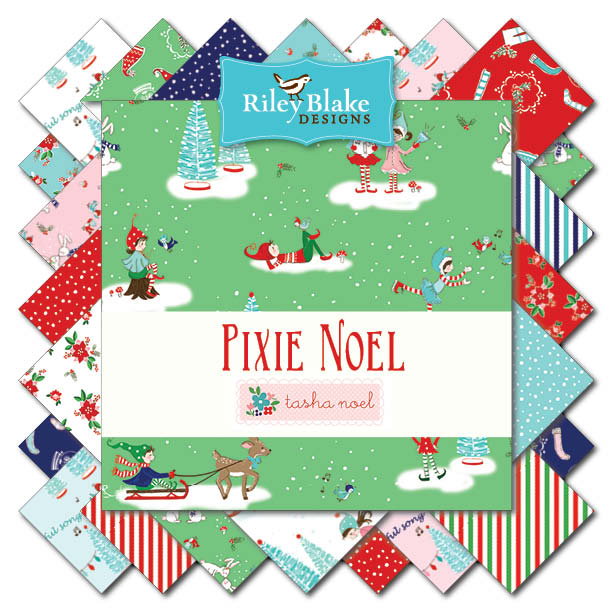 Tasha Noel Pixie Noel Fabric Collection by Riley Blake