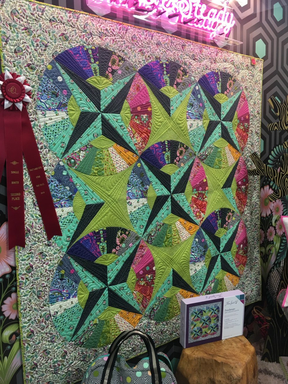 Fandango Quilt by Tula Pink with Slow and Steady Fabric
