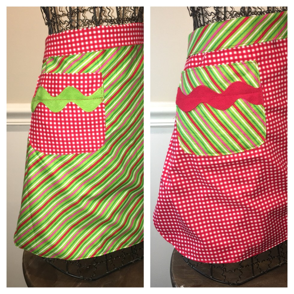 Reversible Apron with Pocket