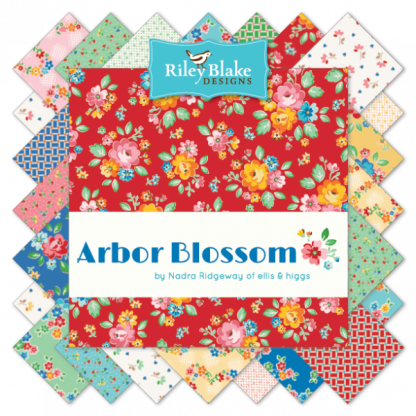 Arbor Blossom Nadra Ridgeway Fat Quarter Bundle