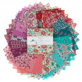 Prim /& Proper Charm Pack Penny Rose Fabrics Lindsay Wilkes Quilting Cotton Sewing Supplies Calico Pre cut Cotton Squares Floral Fabric