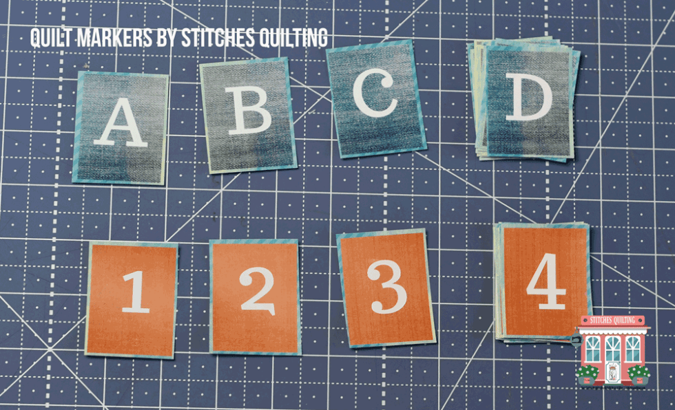 Quilt Markers cut out and ready to use by Stitches Quilting Free Download PDF